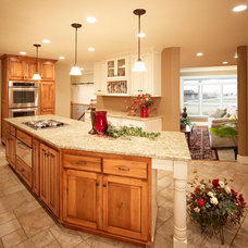 Traditional Kitchen by Magleby Remodel
