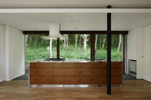 Moderne Køkken by アトリエ137 | atelier137 Architectural Design Office