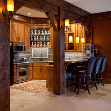 Traditional Kitchen by Magleby Construction