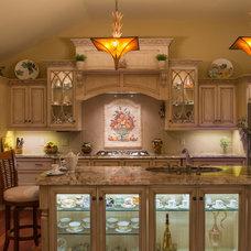 Mediterranean Kitchen by G. M. Roth Design Remodeling, Inc