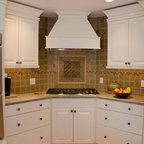 Wood Beams Ceiling And Soffit Traditional Kitchen