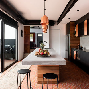 This is an example of an industrial kitchen in Perth.
