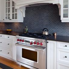 Traditional Kitchen by Wallmark Custom Homes