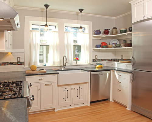 best craftsman kitchen design ideas & remodel pictures | houzz