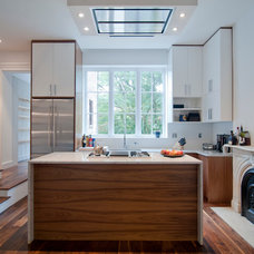 Transitional Kitchen by Townhouse Therapy