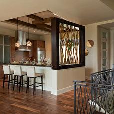 Contemporary Kitchen by Kukk Architecture & Design P.A.