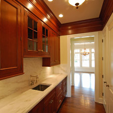 Contemporary Kitchen by Monmouth Custom Builders