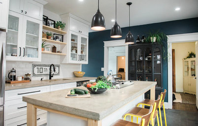 Houzz Tour: A Happy New Life for a Once-Rundown Home