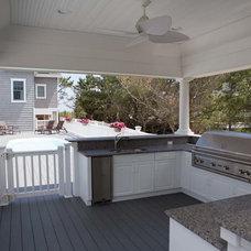 Beach Style Kitchen by Ziman Development Inc