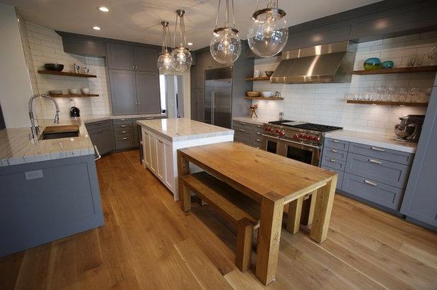 Cocina by APlus Interior Design & Remodeling