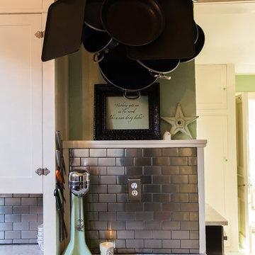 111 year old house kitchen update