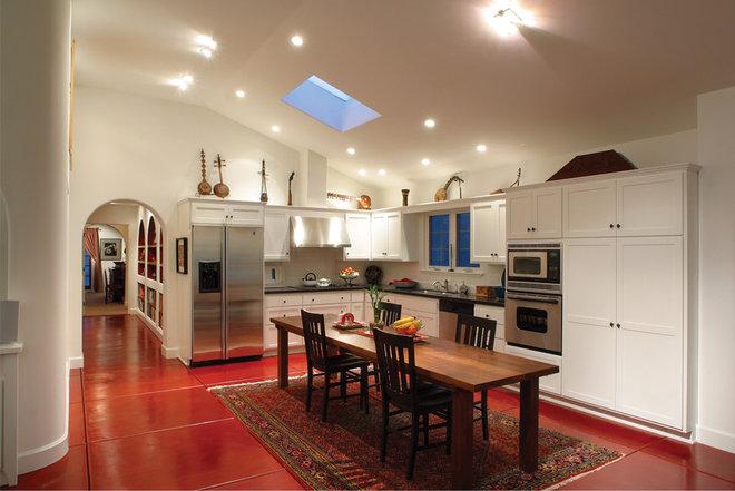 Mediterranean Kitchen by HartmanBaldwin Design/Build