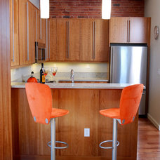 Contemporary Kitchen by Boston Cabinets