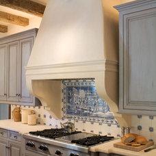 Mediterranean Kitchen by Tiffany Farha Design