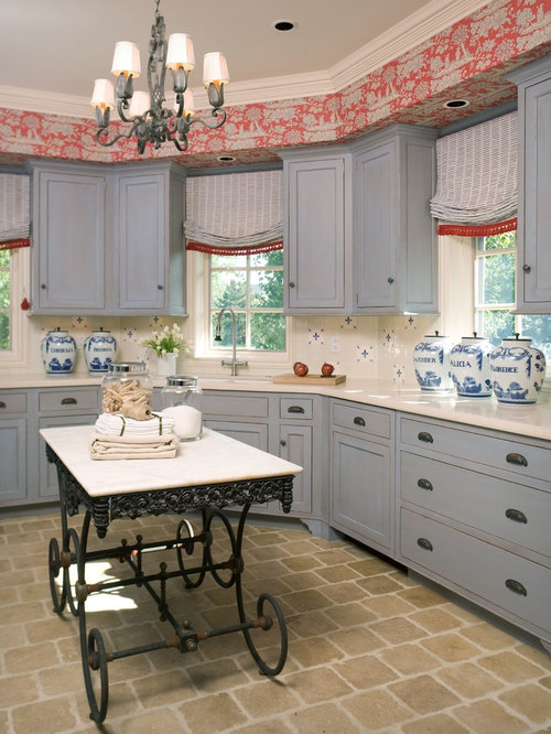 Wallpaper In Soffit Home Design Ideas Pictures Remodel
