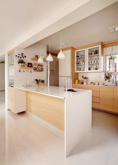 Contemporáneo Cocina by 3D Innovations Design Pte. Ltd.
