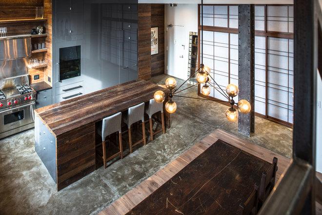 Contemporary Kitchen by Jane Kim Design