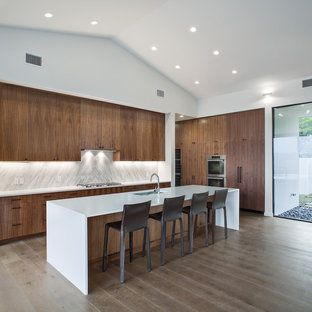 pebble kitchen backsplash european countertop houzz 1438