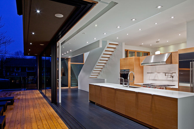 Contemporary Kitchen by Peter A. Sellar - Architectural Photographer