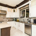 Neo Craftsman in a Country Home - Craftsman - Kitchen - Calgary - by River City Woodworks
