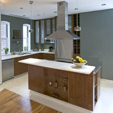 Contemporary Kitchen by Eisner Design LLC