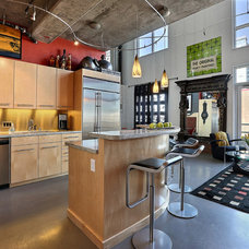 Industrial Kitchen by Denver Image Photography