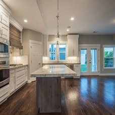 Craftsman Kitchen by Breen Homes