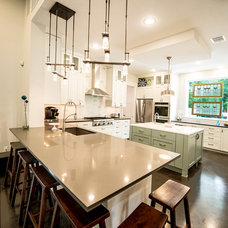 Transitional Kitchen by Mezger Homes