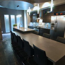 Contemporary Kitchen by Jeff Click Homes