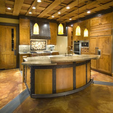 Rustic Kitchen by THID
