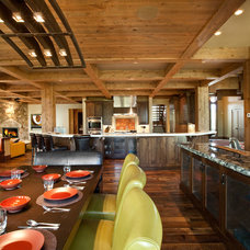 Rustic Kitchen by Jaffa Group Design Build