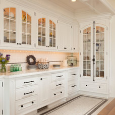 Transitional Kitchen by Magleby Construction