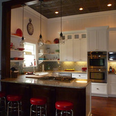 Eclectic Kitchen by LLG Residential Design LLC