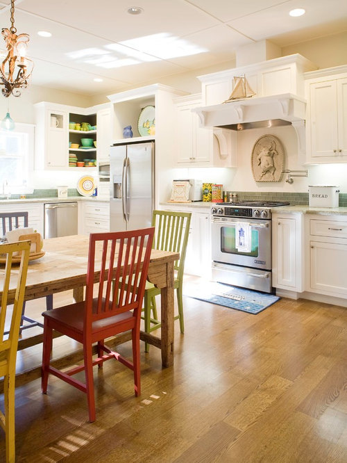 Mismatched appliances houzz for Angela bonfante kitchen designs