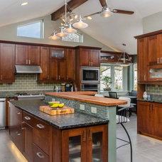 Transitional Kitchen by Trailboss Solutions