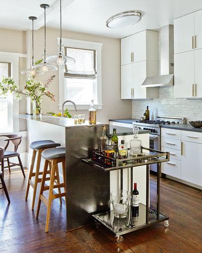 コンテンポラリー キッチン by Karin Payson architecture + design