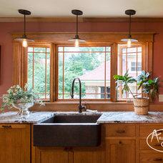 Rustic Kitchen by Architectural Craftsmen