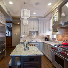 Traditional Kitchen by Sanctuary Kitchen and Bath Design