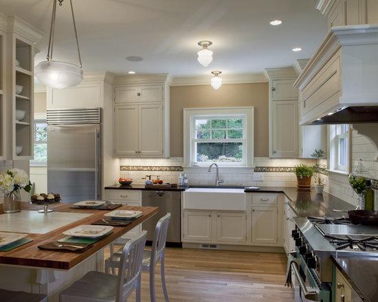 colonial kitchen   houzz