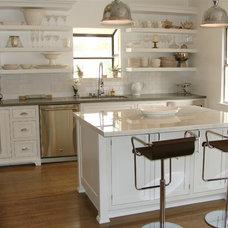Transitional Kitchen by Jamie's Kitchen Cabinets