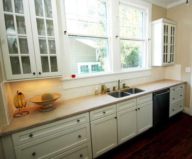 Traditional kitchen by case design remodeling birmingham for Kitchen ideas for 1920s house