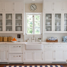 Farmhouse Kitchen by Andrena Felger / In House Design Co.