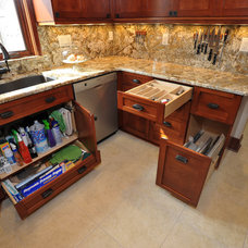 Traditional Kitchen by S.J. Janis Company, Inc.