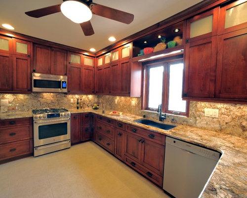 Attractive 1920u0027s Milwaukee Bungalow Kitchen Remodel