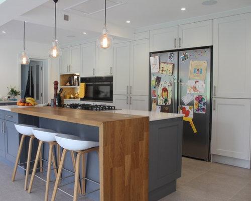 Wood Breakfast Bar | Houzz