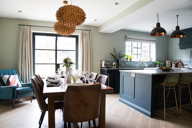 Transitional Kitchen by Smartstyle Interiors