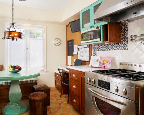 houzz  painted kitchen tables design ideas  remodel pictures, Kitchen design
