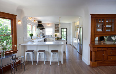 A Functional Face-Lift for a Historic Craftsman Kitchen