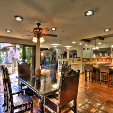 Mediterranean Kitchen by Jay Andre Construction, Inc.