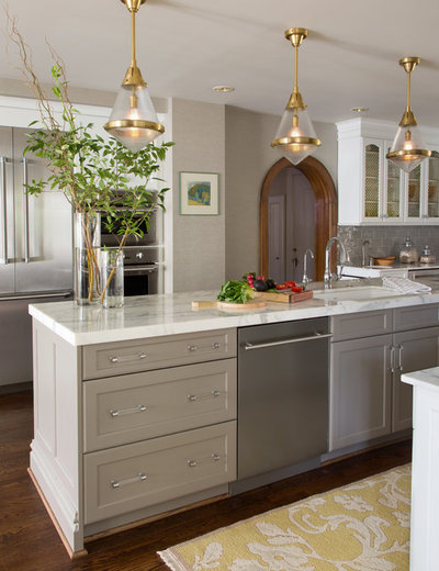 Traditional Kitchen by Laura Lee Home
